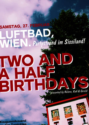 coming up | automat & two and a half birthdays @ vienna