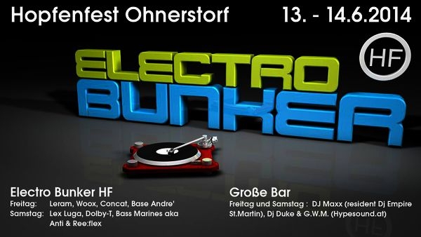 coming up | Electro Bunker HF