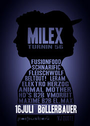coming up | MILEX TURNIN 56 @ böllerbauer, haag