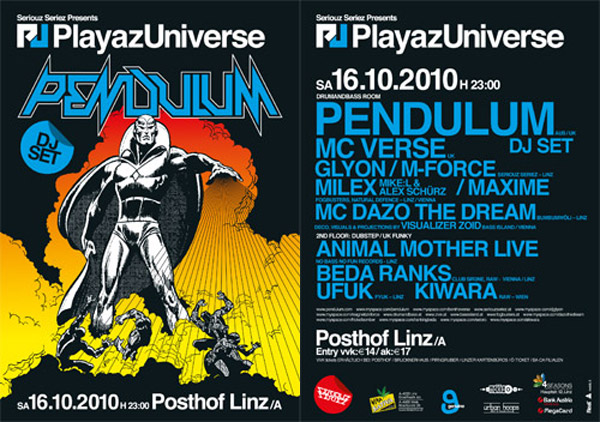 coming up  this saturday | playaz universe & contact!